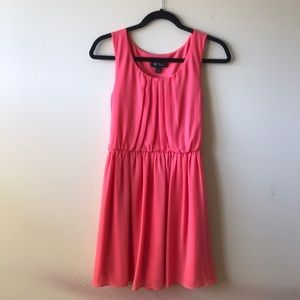BCX dress NWT size S coral pink